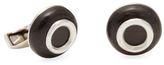 Tateossian Round Window Cufflinks
