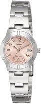 Casio Women's LTP1241D-4A3 Rose- Stainless-Steel Quartz Watch