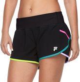 Women's FILA SPORT® Contrast Band Running Shorts