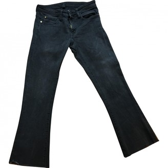 Acquaverde Black Denim - Jeans Trousers for Women