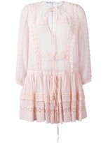 Givenchy broderie anglaise trim top