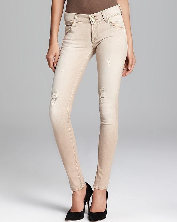 Hudson Jeans Collin Skinny in Bombay Beige