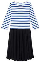 Petit Bateau Womens trompe loeil dress