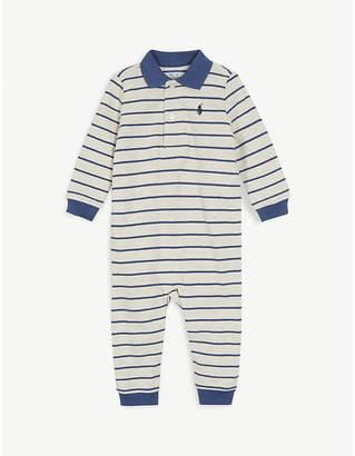 Ralph Lauren Striped cotton bodysuit 3-24 months