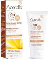Acorelle Organic Tinted SPF50 Sunscreen - Light 50ml
