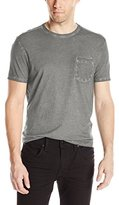 John Varvatos Men's Short Sleeve Crew Neck Pocket T-Shirt