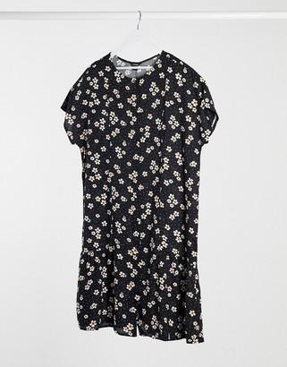 Monki floral shift dress