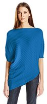 Chaus Women's Dolman Sleeve Shirred Shoulder Sweater