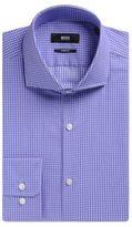 Hugo Boss Mark US Sharp Fit, Cotton Dress Shirt 15/R Purple