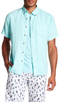 Tailor Vintage Short Sleeve Linen Shirt