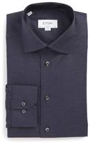 Eton Men's Slim Fit Medallion Print Dress Shirt