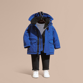 Burberry Down-filled Jacket with Faux-fur-lined Hood