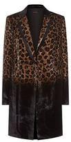 Elie Tahari Pam Leopard Print Coat