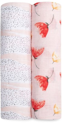 Aden Anais Baby's 2-Pack Picked For You Swaddle Blankets