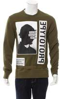Helmut Lang x Travis Scott Photograph Graphic Print Sweatshirt