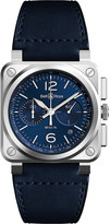 Tissot BR03-94 chronograph stainless steel and rubber watch