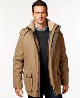 London Fog Men's Big & Tall Micro-Fiber Parka