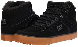 DC High-Top WC WNT (Wheat/Black) Men's Skate Shoes
