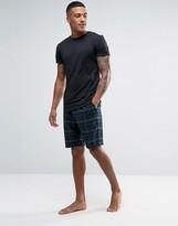 Jack Wills Black Watch Plaid Pajama Set