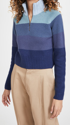 By Any Other Name Cropped Zip Pullover
