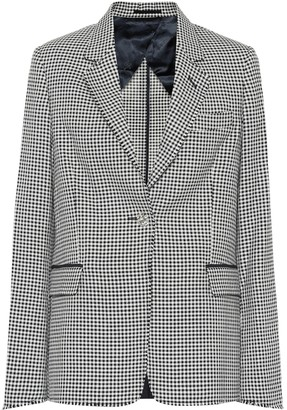 Golden Goose Checked wool and cotton blazer