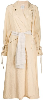 Forte Forte Belted Trench Coat