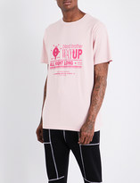 Blood Brother Way Up cotton-jersey T-shirt