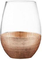 American Atelier Linen Set Of 4 Stemless Wine Glasses