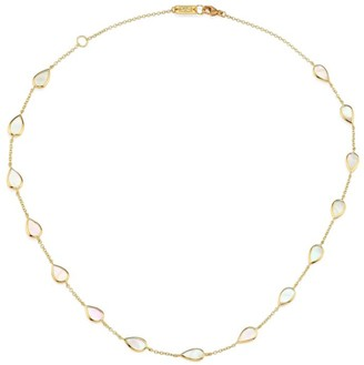 Ippolita Polished Rock Candy 18K Yellow Gold & Mother-Of-Pearl Multi-Station Necklace