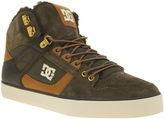 Dc Shoes Dark Khaki & Tan Spartan Hi Wc Winterised Trainers