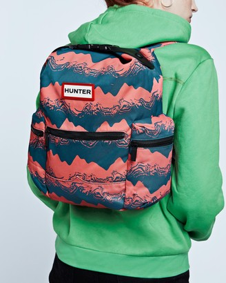 Hunter Original Exploded Logo Top Clip Mini Backpack - Nylon