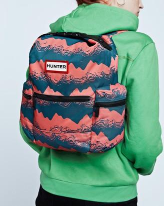 Hunter Original Printed Top Clip Mini Backpack - Nylon