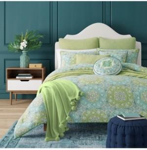 J Queen New York J by J Queen Avalon Green Full/Queen 3pc. Comforter Set Bedding
