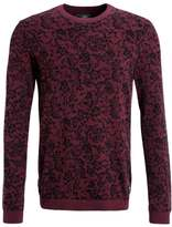 Tom Tailor Jumper deep burgundy red