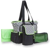 Carter's 5-Piece Tote Diaper Bag Set in Geo Star Print