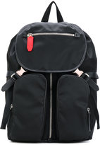 Neil Barrett buckled backpack - men - Leather/Nylon - One Size