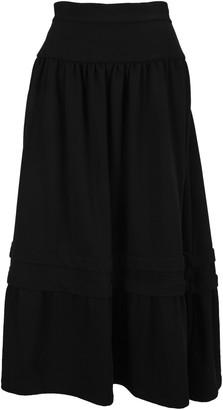 MM6 MAISON MARGIELA Layered Midi Skirt