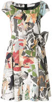 Moschino Fantasia magazine print dress