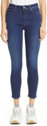 Acne Studios Peg Skinny Ankle Jeans