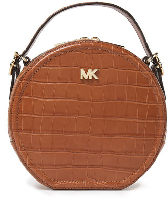 MICHAEL Michael Kors Croc-effect Leather Shoulder Bag