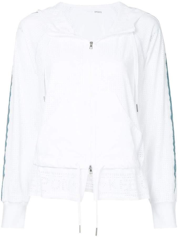 Marc Cain zipped longsleeved hoodie