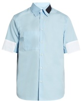 Marni Contrast-patch Short-sleeved Cotton Shirt