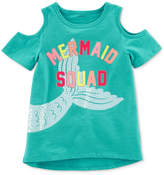 Carter's Mermaid Squad Cotton T-Shirt, Little Girls and Big Girls