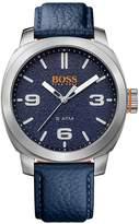 HUGO BOSS Cape Town Casual Blue Dial Blue Strap Mens Watch