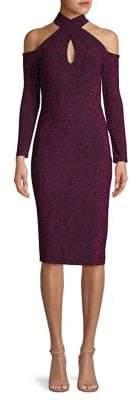 Rachel Roy Simone Cross-Cutout Bodycon Dress