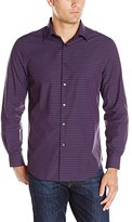 Perry Ellis Men's Regular Fit Horizontal Stripe Shirt