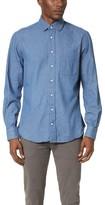 Gitman Brothers Pub Collar Denim Shirt