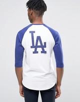 New Era La Dodgers Athletics 3/4 Sleeve Raglan T-shirt