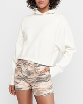 Express Camo High Waisted Double Patch Pocket Shorts