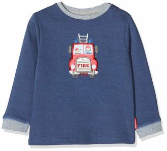 Salt&Pepper Salt and Pepper Baby Boys' Ready for Action Feuerwehr mit Motiv Zum Offnen Sweatshirt